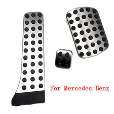No Drill Fuel Brake Foot Pedals For Benz W222 W212 W172 R172 R231 W204 X204 W218