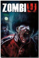 VIDEO GAME POSTER ZombiU