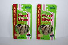 2 x Hikari First Bites 10g Fry Food Discus Tropical Newborn Aquarium Food