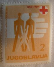 Yugoslavia Stamp 1959 Scott RAJ18 PT19  Red Cross Unused
