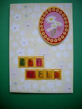 1 Hand made card - Get Well. Postage $2 for 1 to 6 cards