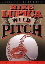 Wild Pitch Book by Mike Lupica Hardback Free Ship Baseball Story 2002
