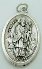 MRT St Bridget & Saint Patrick Medal Two Sided Pendant Irish Patron Ireland Gift