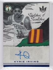 2017-18 Kyrie Irving 1/10 Auto Patch Panini Court Kings Sketches Swatches