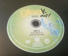 Glee Season 2 Volume 1 Disc 3 Replacement Dvd Tested Free Shipping (BK1)
