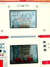 GAME WATCH NINTENDO MICKEY DONALD MULTI SCREEN JAPAN 1982 VINTAGE