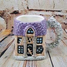 Vintage Brinn's Halloween Décor Coffee Mug Tea Cup Haunted House