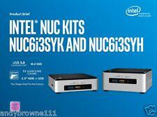 NEW* WINDOWS 8 Intel NUC6i3SYH Core i3 NUC System 8GB 240GB M.2 SSD 1TB HDD
