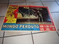 MONDO PERDUTO f. lamas, I. ALLEN,FOTOBUSTA,1 EDIZIONE 1960
