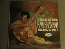 RAVI SHANKAR / ALLA RAKHA SOUND OF THE SITAR LP ORIG '67 WORLD PACIFIC RAGA VG+