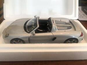 1:18 Autoart Porsche Carrera GT Silver (diecast)