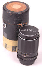 SUPER-TAKUMAR M42 ASAHI PENTAX LENS 1:3.5/135mm-Distressed Leather Case