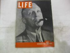 Life Magazine November 7th 1938 A California Candidate Published By Time    mg74