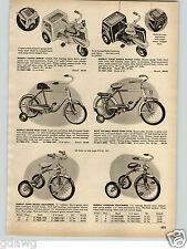 1956 PAPER AD Murray Pedal Car Good Humor 3 Wheel Motorcycle Cycle Police Radar