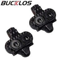 BUCKLOS MTB Cleat Single Release Float Bike Clip for Shimano & Peloton & Spin US