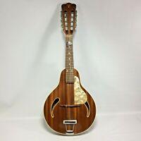 Hofner Mandolin 545 Mahogany Body Late 60s Rosewood Finger Board Germany Made