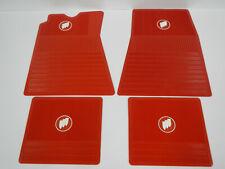 62 63 64 65 66 Buick Riviera LeSabre Invicta Wildcat Electra Floor Mat Set Red