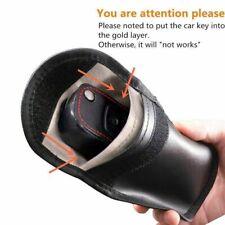 Car Key Signal Blocker Case Faraday Cage Fob Pouch Key less RFID Blocking Bag