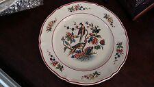 """Villeroy & Boch Phönix/Phoenix pattern (red) Plate, scalloped. 7.5""""/19cm"""