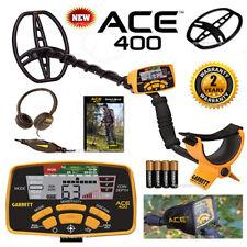 Garrett Ace 400 Metal Detector With 85 X 11 Dd Waterproof Coil Amp 3 Accessories