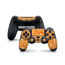 Minecraft Orange Skin For Sony Playstation 4 Dualshock Wireless Controller PS4