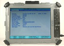 Xplore iX104C4 Rugged Tablet Laptop PC NO Power Supply, No Stylus Pen, NO HDD