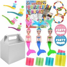 Pre Filled Kids Activity Packs Goody Party Gift Boxes Favours Toys For Girls