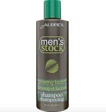 Aubrey Organic Men's Stock Shampoo Ginseng Biotin 8 oz