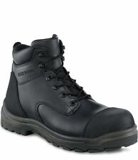 3243 RED WING MEN'S 6-INCH BOOT SAFETY BLACK SIZE 6