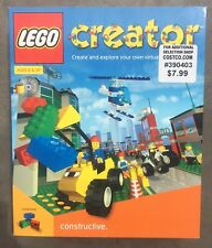 Lego Creator Cd-Rom Software 1998 Constructive 3D virtual world age 8 and up