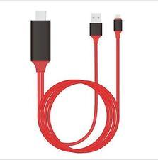 Lightning to HDMI Cable HDTV TV Digital AV Adapter for Apple iPhone 5/6/7 #erapp