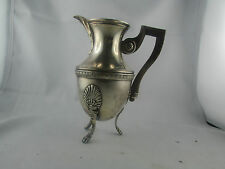ancien pot a lait en metal argenté poinconné epoque 1900 style empire