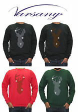 Cotton Blend Long Sleeve Crew Neck Loose Fit Men's Casual Shirts & Tops