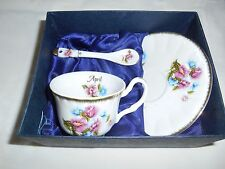 HAND MADE ADELINE CUP&SAUCER