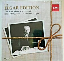 EDWARD ELGAR EDITION - The Complete Electrical Recordings 9-CD box 1926-33