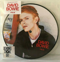 "RSD David Bowie 7"" Picture Vinyl Single TVC15 Wild is the Wind Record Store Day"