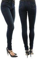 Levi's Damen Jeanshose Super Skinny 710 Dunkelblau W23