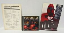 Crusader No Remorse Origin EA PC CD-ROM game + Manual 1995 - Mint Disc 1 Owner!