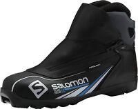 Salomon Hommes Ski de Fond Chaussure Course Longue Escape 6X Noir Bleu