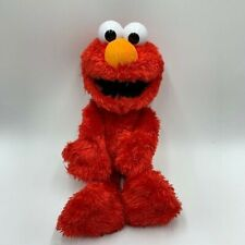Tickle Me Elmo Red Talking Giggles Laughs Hasbro Sesame Street 2011 Large Plush
