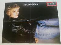 MADONNA Spanish Poster EL GRAN MUSICAL MAGAZINE 1980's Rod Stewart