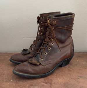 Brown shoe for men's