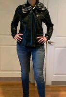 Black marc jacobs bow tie woman's top, Size 4-6 $995