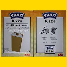 4 Beutel SWIRL K 224 Staubsaugerbeutel K224 - frei Haus per Warensendung