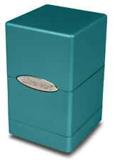 Ultra Pro SATIN TOWER OCEAN SHIMMER Deck Box Card Dice Compartment Storage MTG