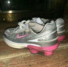 Nike Shox Turbo Vii 7 Hot Pink & Silver Bullet Shoes 9.5 C 9.5 Toddler ��tw4j7
