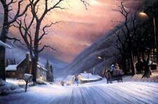 MOUNTAIN SLEIGH RIDE by HT Becker LE