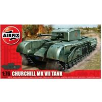 Airfix 1/76 Churchill Mk VII Tank Model Kit Plastica