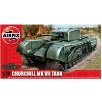 Airfix 1/76 Churchill Mk VII Tank Model Kit Plastica