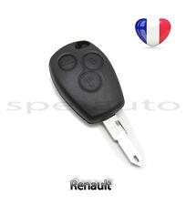 plip coque clé Renault Trafic Master Fluence Latitude Espace Modus + lame vierge